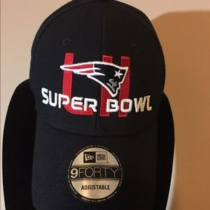 New England Patriots Super Bowl Ball Cap NWT